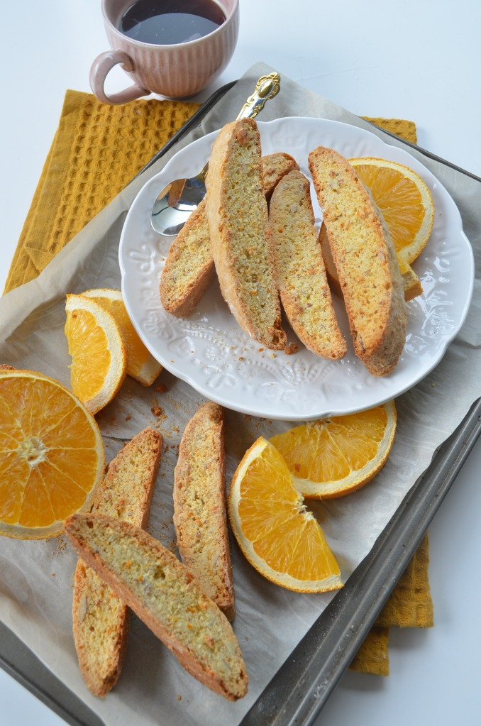 Small Batch Orange Biscotti