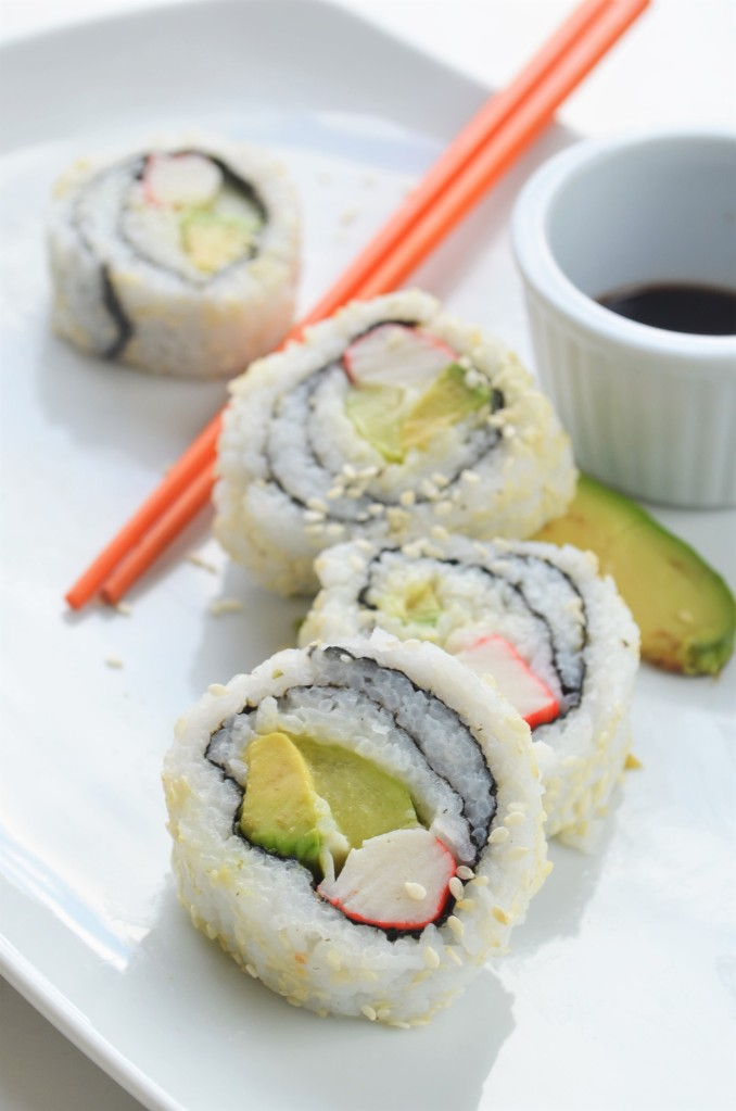 The Easiest Homemade California Roll By SweetnSpicyliving