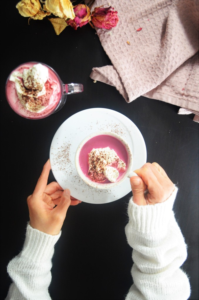 Small Batch Beetroot Hot Chocolate Drink  By SweetNSpicyLiving