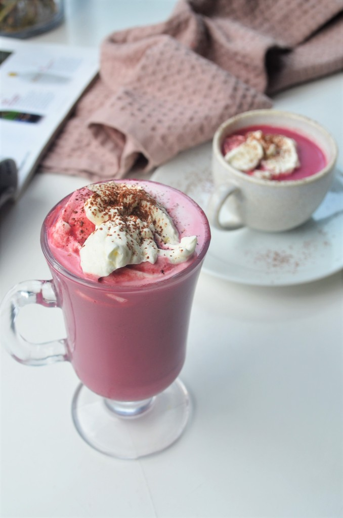 Beetroot Hot Chocolate Drink