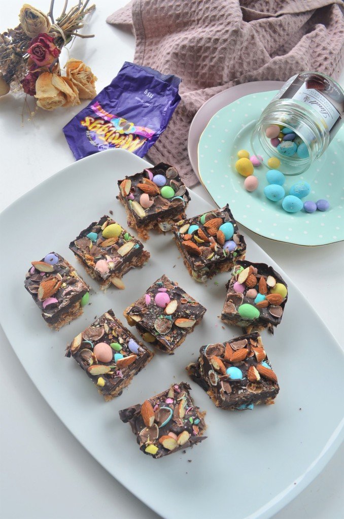 Peanut Butter and Chocolate Rice Crispy