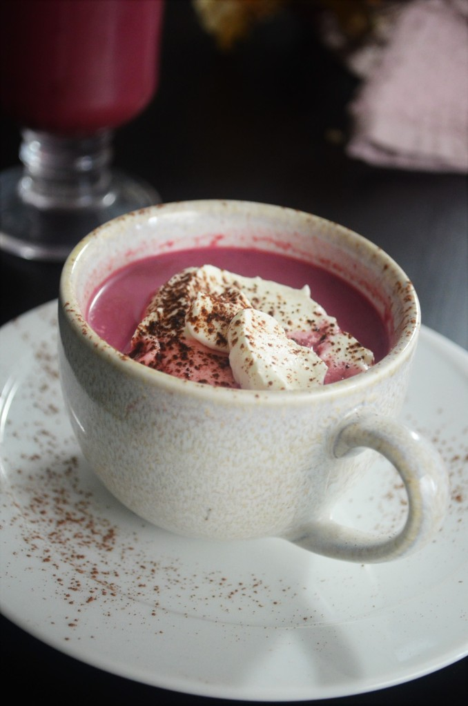 Beetroot Hot Cocoa Drink
