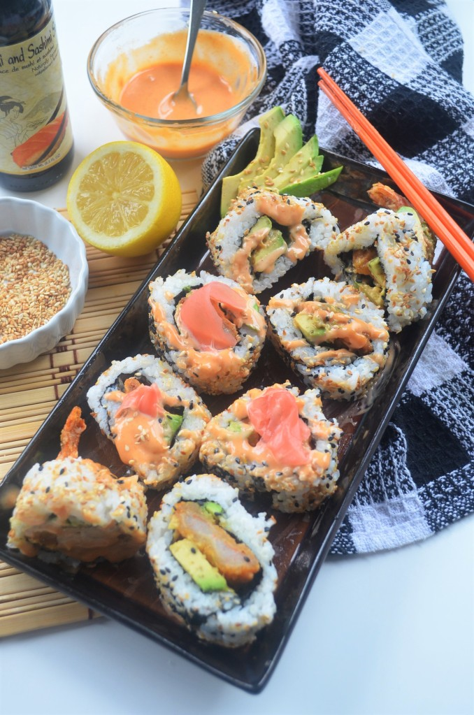 Homemade Dynamite Roll By SweetNSpicyLiving