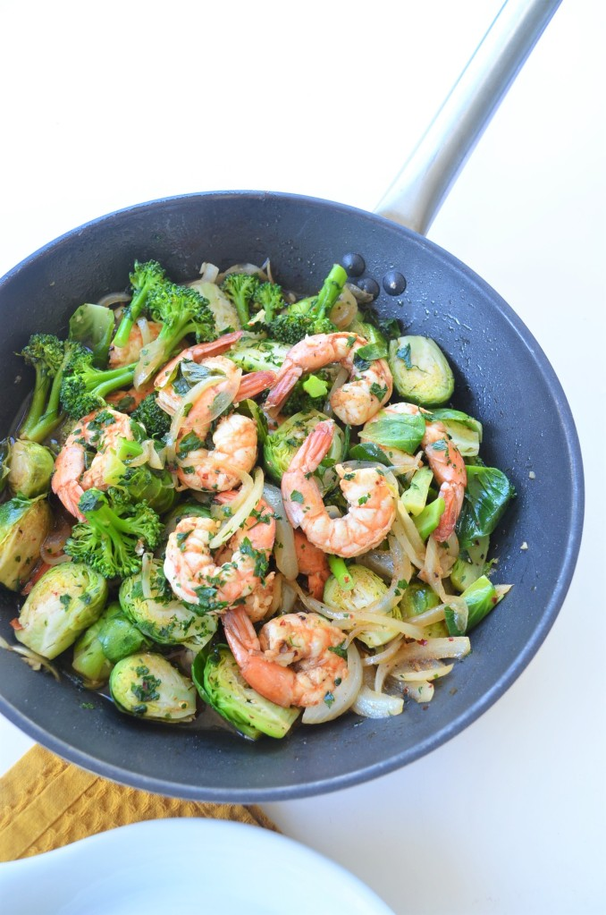 Broccoli and  Shrimp Stir-Fry By SweetNSpicyLiving