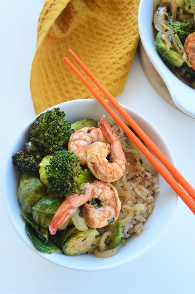 Broccoli Shrimp Stir-Fry