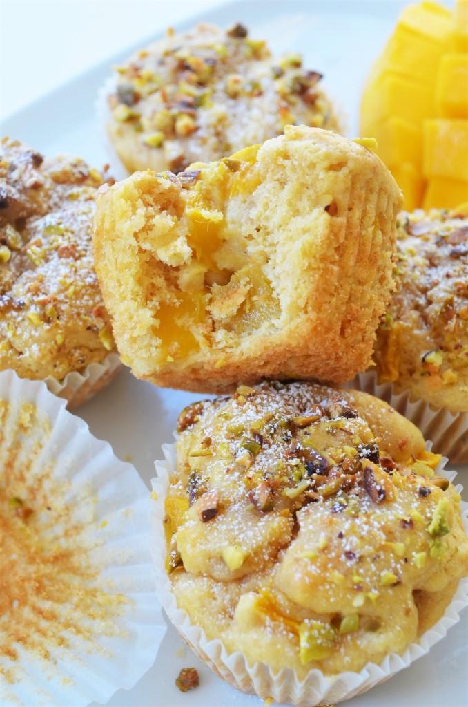 Mango and Pistachio Muffin