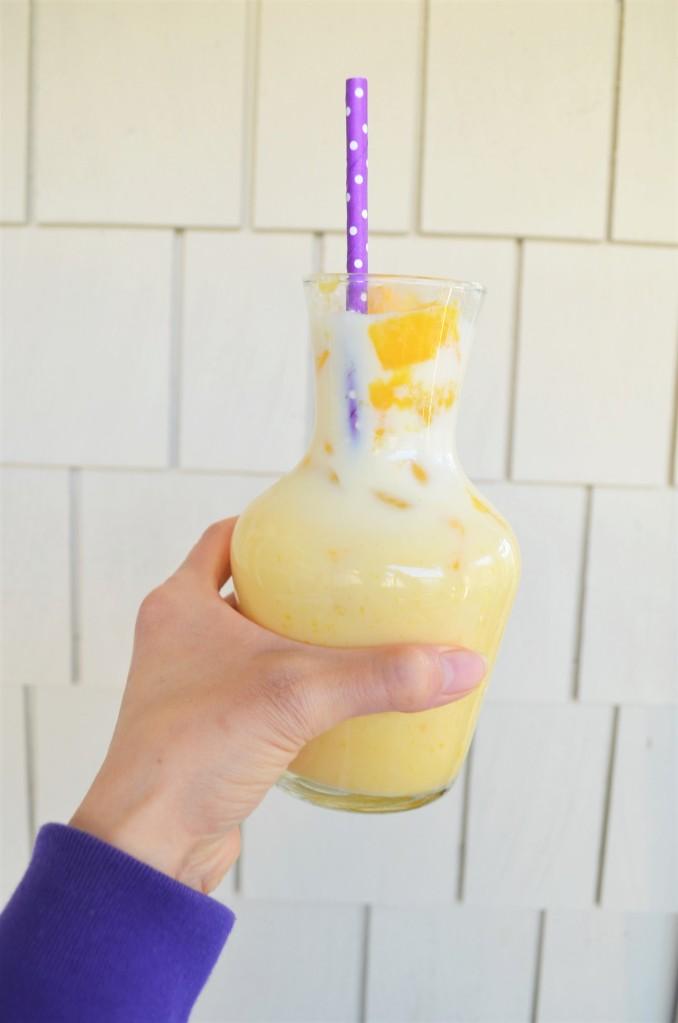 Mango Milk Drink By SweetNSpicyLiving