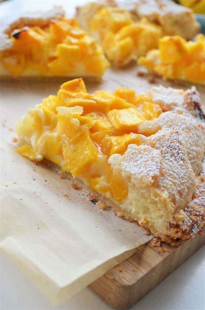 Mango Galette By SweetNSpicyLiving