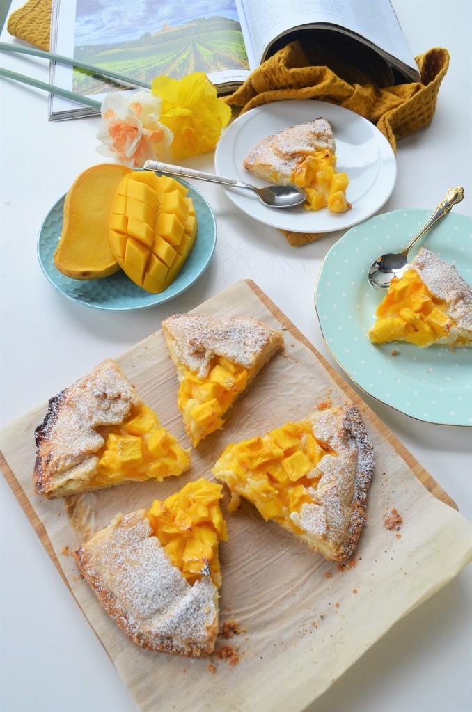 How to Make Mango Galette