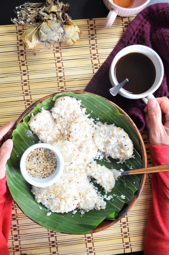 Small Batch Filipino Palitaw By SweetNSpicyLiving