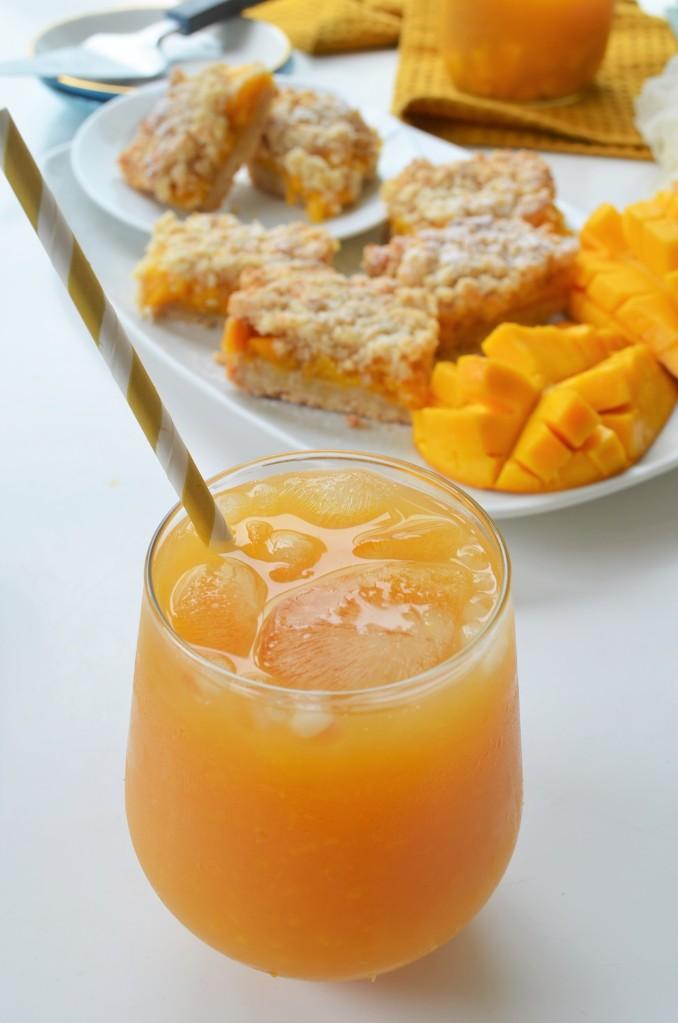 Mango Iced Tea By SweetNSpicyLiving