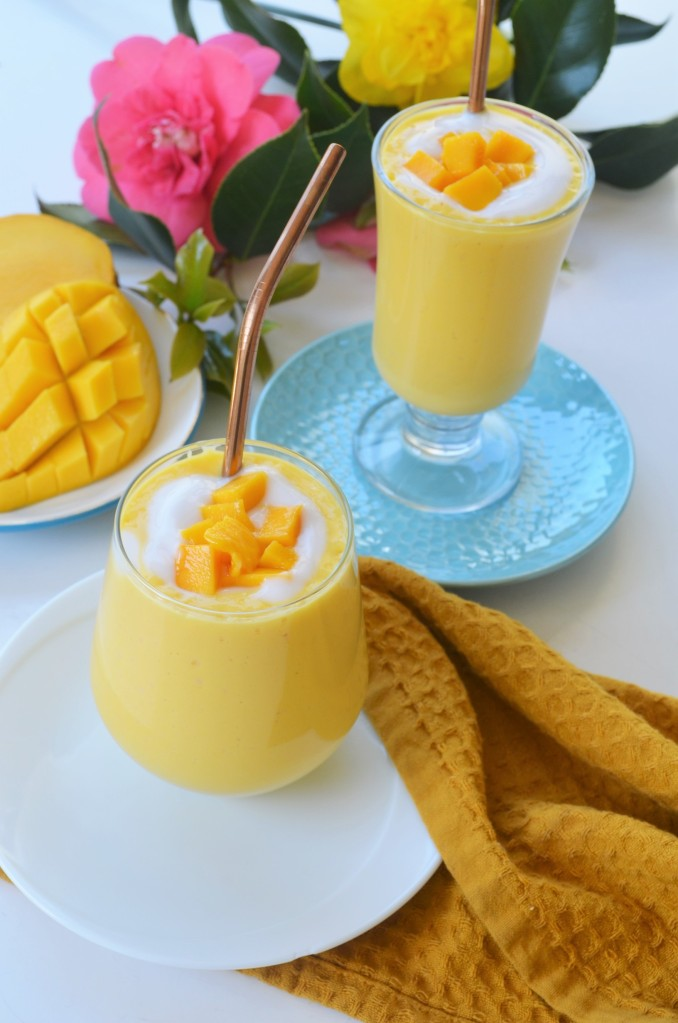 How to Make Mango Lassi By SweetNSpicyLiving