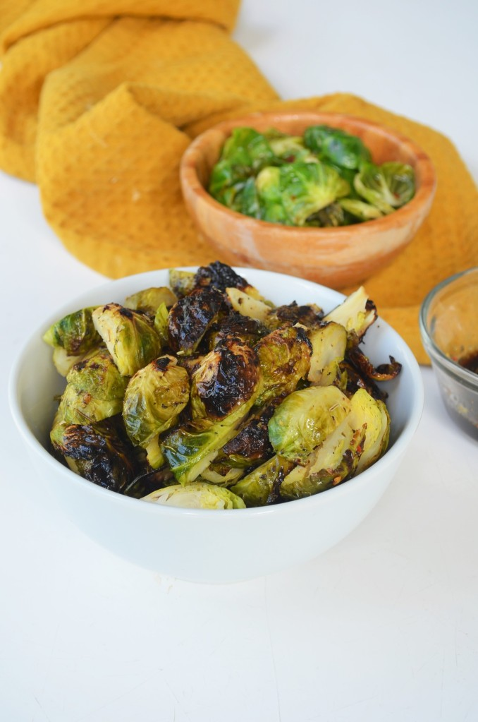 Small Batch Grilled Brussels Sprouts