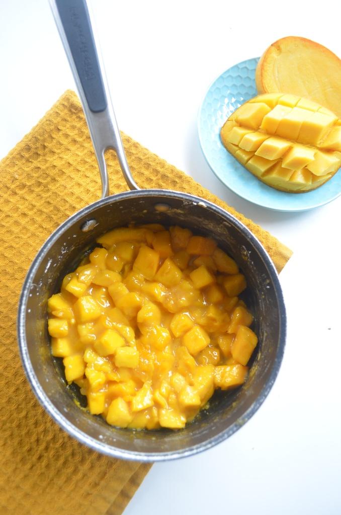 Fresh Mango Pie Filling