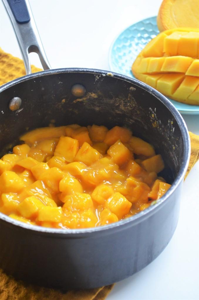 Mango Pie Filling By SweetNSpicyLiving