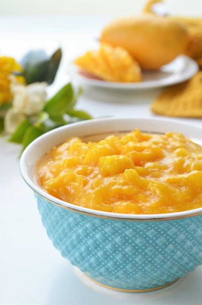 Small Batch Fresh Mango Filling