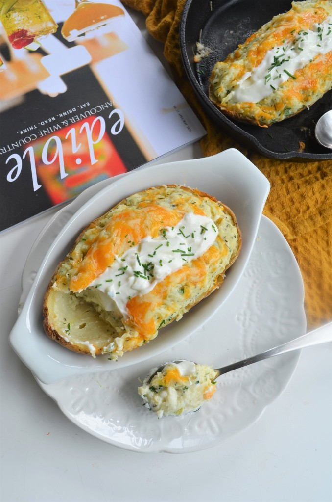 Twiced Baked Potato By SweetNSpicyLiving For Two