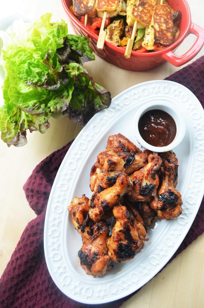 Sticky Chicken BBQ Wings