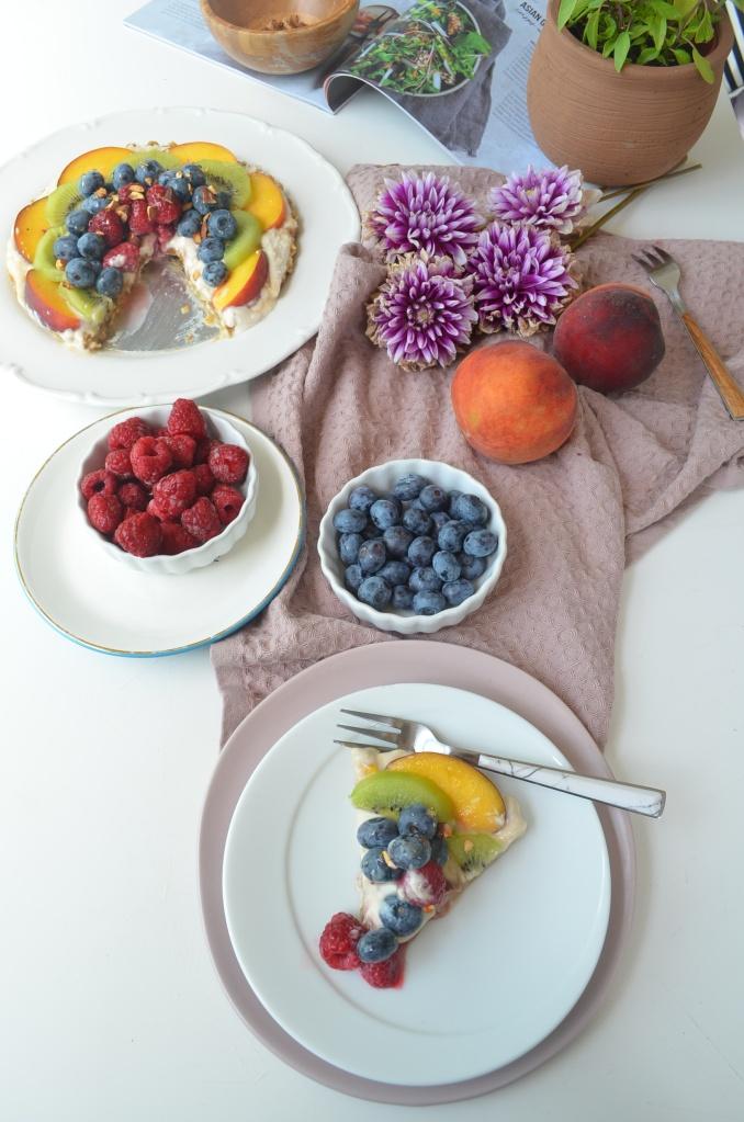 No Bake Yogurt Fresh Fruit Tart