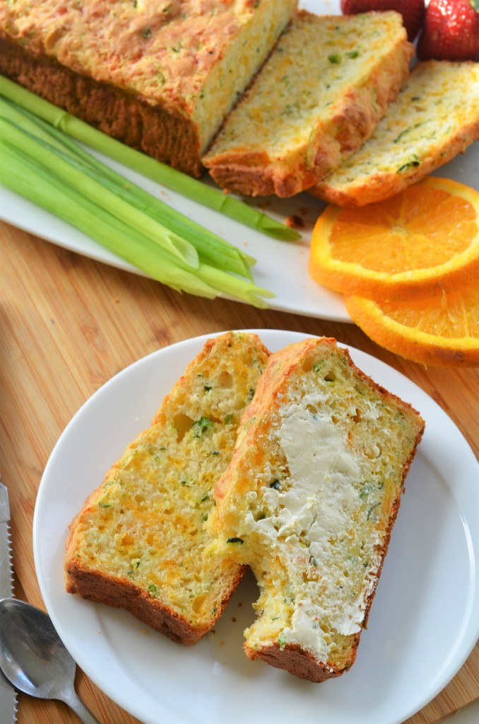 Zucchini Cheese Quick Bread