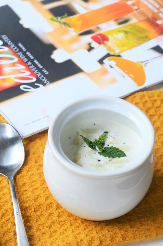 Creamy Leeks Soup By SweetNSpicyLiving