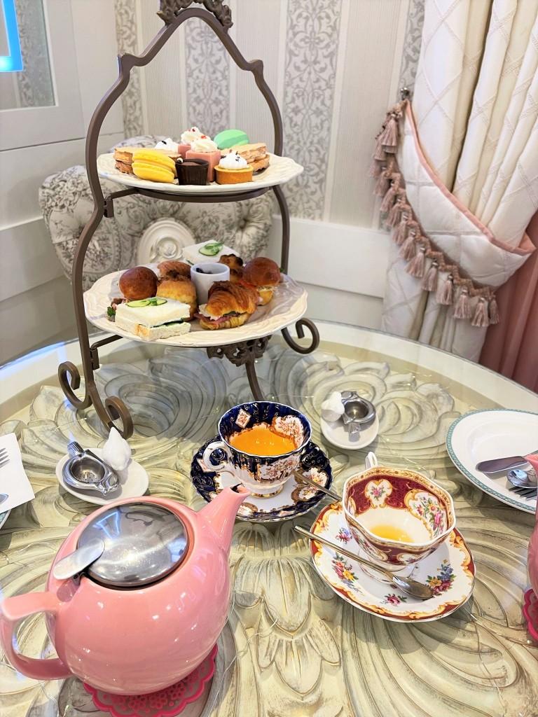Weekend Afternoon Tea at Fur Elise
