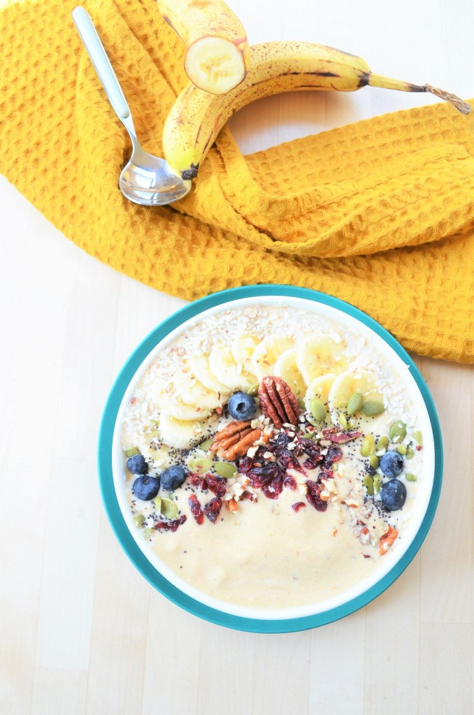 Pumpkin Smoothie Bowl For One