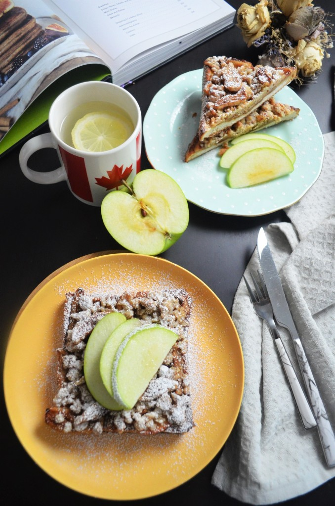 Baked Apple French Toast By SweetNSpicyLiving