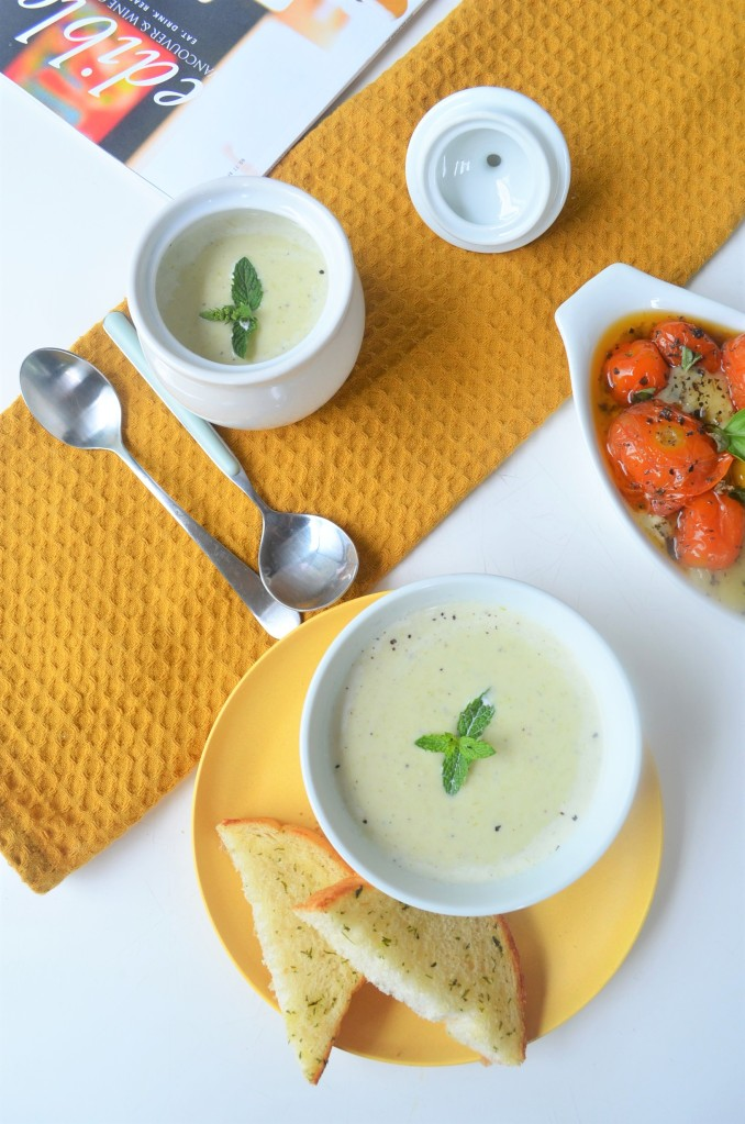 Small Batch Creamy Leeks Soup By SweetNSpicyLiving