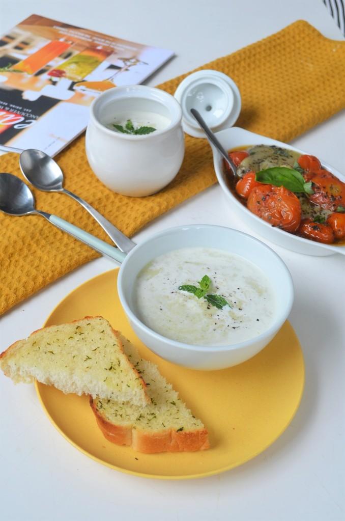 Small Batch Creamy Leeks Soup