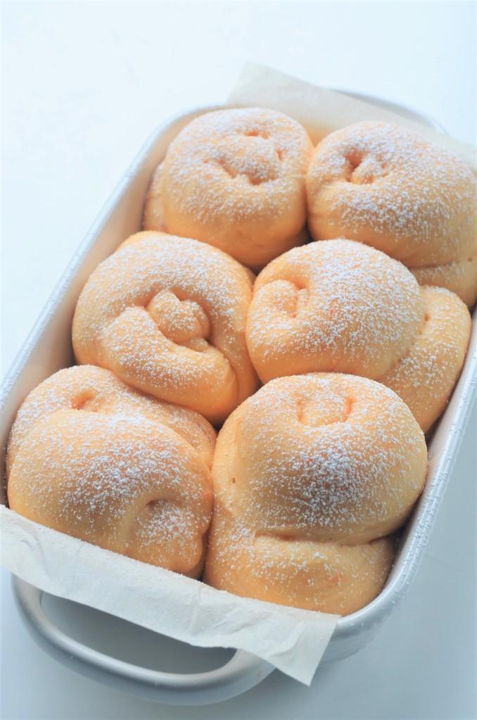 Sweet Potato Bread Rolls By SweetNSpicyLiving